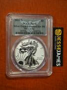 2019 S Enhanced Reverse Proof Silver Eagle Pcgs Pr70 First Strike With Box/coa
