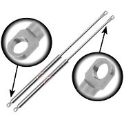 Qty 2 3/8 Eyelet End Lift Supports Stainless Steel 7.5 Extended X 40lbs