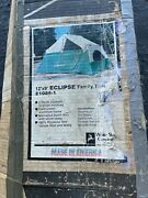 Vintage White Stag Tent 9' X 12' Eclipse Family Camping Cabin Tent Model 21086-1