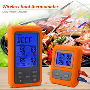 Remote Cooking Thermometer Digital Bbq Grill Oven Meat Wireless Smoker And Timer