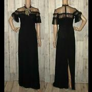 Evening Dresses Black Luxury Cleaned With Brooch Free Shipping No.1681