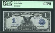 1899 1 Silver Certificate Black Eagle Fr-228 Pcgs Certified Choice New-64-ppq