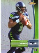 Russell Wilson 2012 Topps Finest Refractor Rookie Card Rc