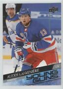 2020 Extended Series Young Guns Photo Variations Alexis Lafreniere 201 Rookie