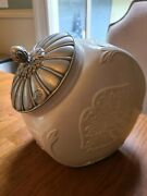 Butler's Pantry Cookie Jar With Lid By Lenox Extremely Rare Mint