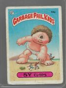 44a Rare Old Vintage Retro 1985 Garbage Pail Kids Gpk Topps Collection Card 109