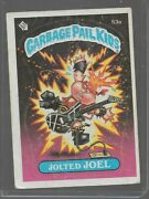 53a Rare Old Vintage Retro 1985 Garbage Pail Kids Gpk Topps Collection Card 114