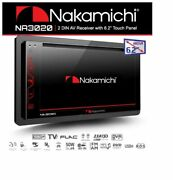 Nakamichi Na3020 2-din Built-in Bluetooth Touch Screen With Free Backup Camera