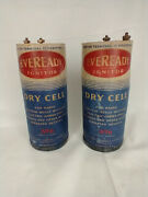 Antique Eveready Ignitor 6 Dry Cell Battery For Radio Ignition Bells Lanterns