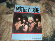 Motley Crue By Eddie Mcsquare And Lewd Crude Rude By Dome/simmons Rare Books