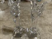 Pair Mikasa Candlesticks 5.5andrdquo 1970andrsquos Sold As Set Of 2