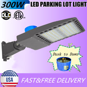 300w Led Parking Lot Light Outdoor Street Lighting Dusk To Dawn With Photocell