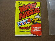 Vintage 1973 Topps Wacky Packages Original 3rd Series 3 Yellow Unopened Pack