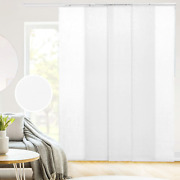 Chicology Adjustable Sliding Panels, Perfect Privacy Vertical Blinds For Large X