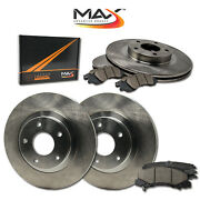 2014 2015 Chevy Caprice Oe Replacement Rotors W/ceramic Pads F+r