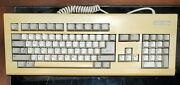 Commodore Amiga 2000 Keyboard, Yellowed, Tested And Working Great