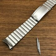 Rare Wittnauer Stainless Steel 18mm Kestenmade Bambi Nos Vintage Watch Band