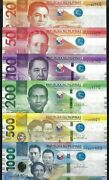 Philippines 20 50 100 200 500 1000 Piso 2020 New Series Pack Fresh Unc Notes