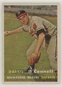 1957 Topps Scarce Series Danny O'connell 271