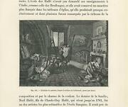 Antique House W/ Paintings In Artists Studio Fireplace Woman Cooking Old Print