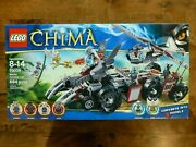 Lego 70009 Chima Worrizand039s Combat Lair - New Sealed Excellent - Fast Shipping