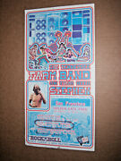 Ida May And Stephen Gaskin The Tennessee Farm Band Concert Poster 12x23