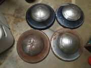 1936 1937 1938 1939 Ford Hubcaps V8 Flathead Wide Five === Free Postage Usa