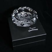 Baccarat For Chrome Hearts Crystal Ashtray Size Large