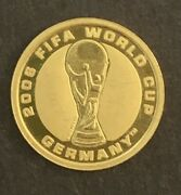 Australia 2006 1/25oz .999 Gold Fifa World Cup Germany Coin 4 Dollars Ends Soon