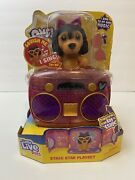Little Live Pets Omg Pets Have Talent - Stage Star Puppy Playset New