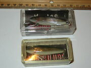Lot Of 2 Lands Mirrolure Lures 3m 18 4m