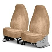 For Chevy Colorado 04-19 Superlamb Superfit 1st Row Palomino Seat Covers