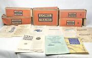 Lionel Electric Trains Box Only 6465, 2026, 1121, 6454, 6466wx And Manauals