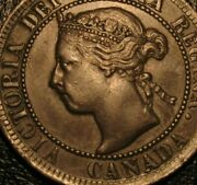 Old Canadian Coins 1894 Canada Large Cent Key Date Beauty