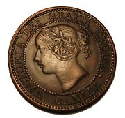 Old Canadian Coins 1859 Canada Large Cent Beauty