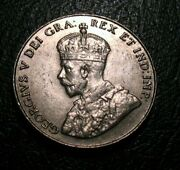 Old Canadian Coins 1931 5 Cent Nickel Canada George V Coin