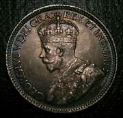 Old Canadian Coins Choice 1919 Bu Unc Canada Toned Ten Cents Beauty 10 C