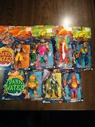 Vintage The Pirates Of Dark Water Action Figure Lot Hasbro 1990 Open Packages