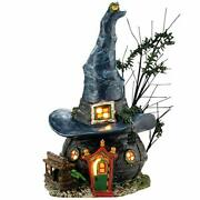 Department 56 Snow Village Halloween Witch Hollow Toads And Frogs Witchcraft Hau