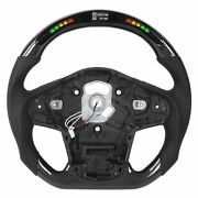 Part Carbon Fiber Led Lights Display Steering Wheel Replacement For Gr A90 2020+