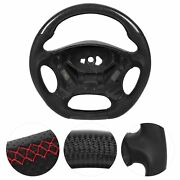 Part Carbon Fiber Steering Wheel Nappa Preforated Leather Fit For ‑benz E‑class