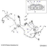 Polaris Electric Power Steering Eps Chassis Harness, Rzr 900