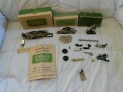 Very Nice Lot Vintage Collection Singer Sewing Attachments