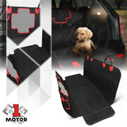 Universal Car Suv Truck Back Rear Seat Cover Hammock Protector For Dogs Travel