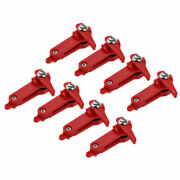 8pcs Snap Release Clip, Outrigger Downrigger Power Grip Snapper Offshore Release