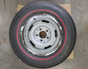 Used Reproduction 1967 Corvette Wheels With Coker Tires - Set Of 4