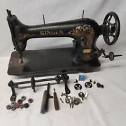 Rare 1915 Singer 31-32 Heavy Duty Industrial Sewing Machine