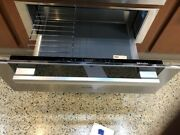 Esw6780st- Miele 30 Warming Drawer Stainless Black Glass Display