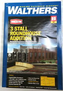 Walthers Ho 933-2901 3-stall Modern Roundhouse Addition Kit