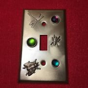 Custom Bronze/gold Metal Electrical Outlet Cover